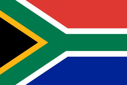 bildet viser det sørafrikanske flagget