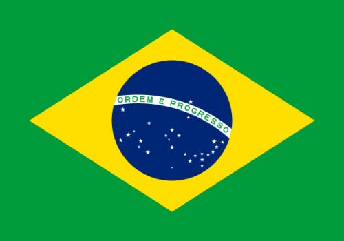 bildet viser brasil sitt flagg