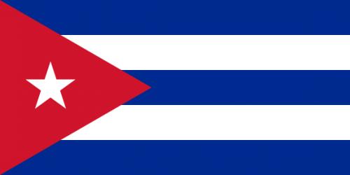 viser cuba sitt flagg