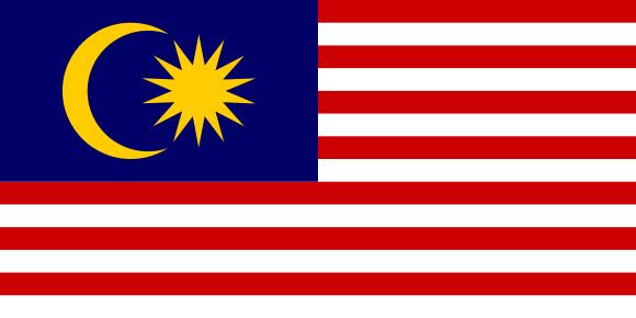 Viser Malaysia sitt flagg